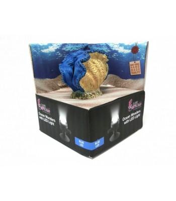 Hydor H2SHOW Készlet kék kagyló + kék LED